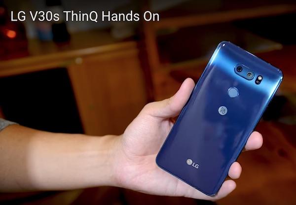New LG V30S ThinQ Smartphone Adds Custom Google Assistant Commands
